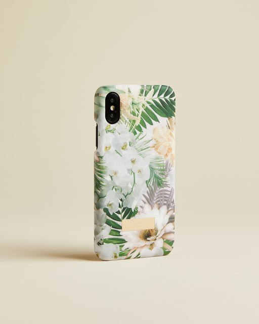 Woodland iPhone X clip case