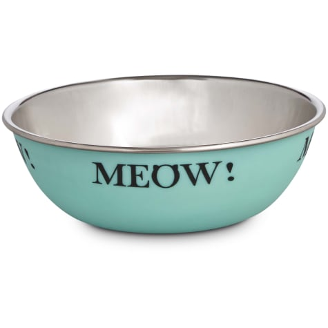 Harmony Mint Stainless Steel Cat Bowl, 1 Cup