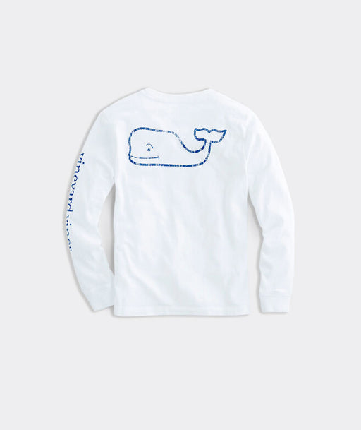 Kids' Vintage Whale Long-Sleeve Graphic Tee