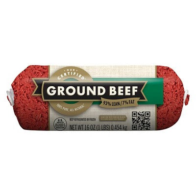 93/7 Ground Chub - 1lb - Market Pantry™