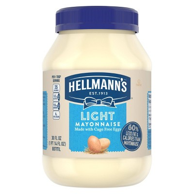 Hellmann's Mayonnaise Light - 30oz