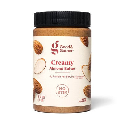 No Stir Creamy Almond Butter 16oz - Good & Gather™