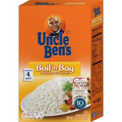 Uncle Ben's Boil-in-Bag White Rice - 15.8oz