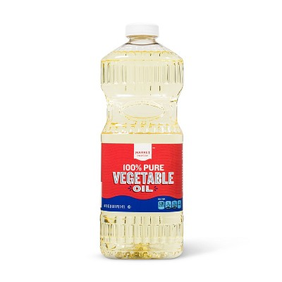 Vegetable Oil - 48 fl oz - Market Pantry™