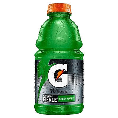 Gatorade Fierce Green Apple Sports Drink - 32 fl oz Bottle