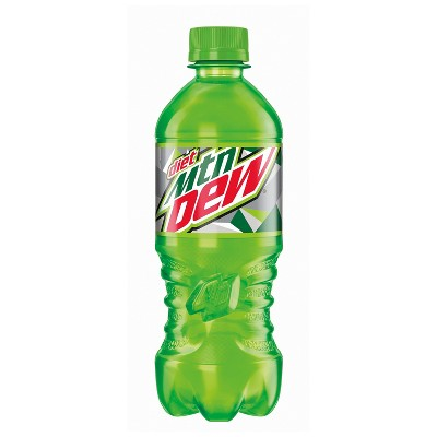 Diet Mountain Dew Citrus Soda - 20 fl oz Bottle