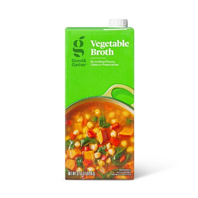 Vegetable Broth - 32oz - Good & Gather™
