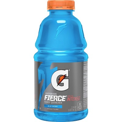 Gatorade Fierce Blue Cherry Sports Drink - 32 fl oz Bottle