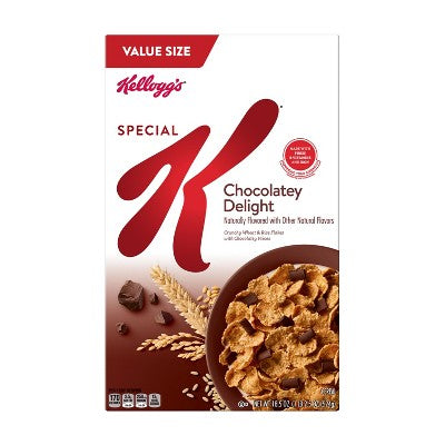 Special K Chocolately Delight Breakfast Cereal - 18.5oz - Kellogg's