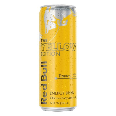 Red Bull Yellow Edition Tropical Punch Energy Drink - 12 fl oz Can