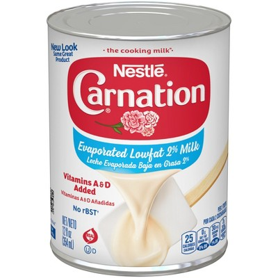 Nestle Carnation Low Fat 2% Evaporated Milk - 12oz