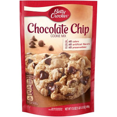Betty Crocker Chocolate Chip Cookie Mix - 17.5oz