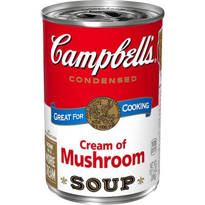 Campbell's Condensed Cream of Mushroom Soup - 10.5oz