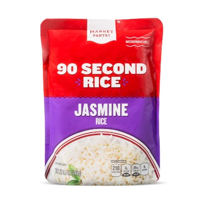 Jasmine Rice Microwaveable Pouch 8.5oz - Market Pantry™
