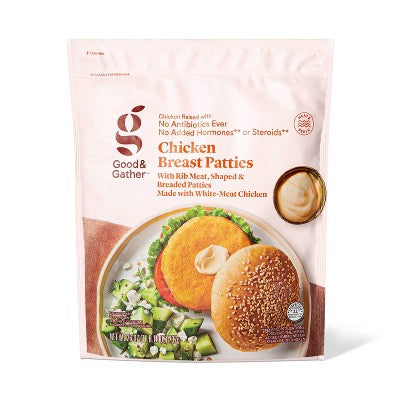 Chicken Breast Frozen Patties - 26oz - Good & Gather™