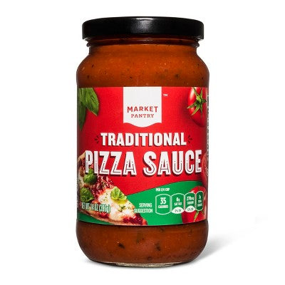 Traditional Pizza Sauce 14oz - Market Pantry™