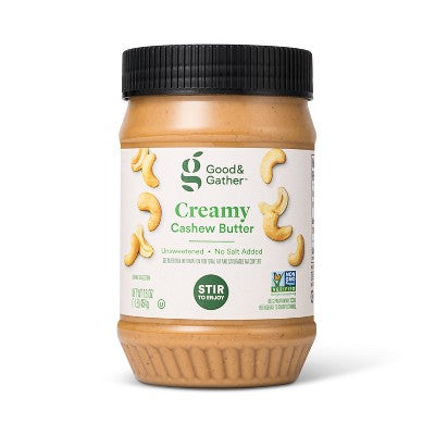 Creamy Stir Cashew Butter - 16oz - Good & Gather™