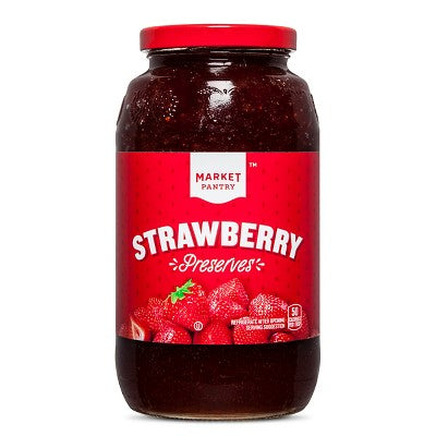 Strawberry Preserves - 32oz - Market Pantry™