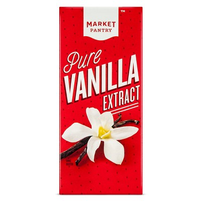 Pure Vanilla Extract - 2 fl oz - Market Pantry™