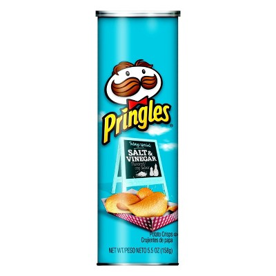 Pringles Salt & Vinegar Potato Crisps - 5.5oz
