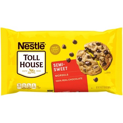 Nestle Toll House Real Semi-Sweet Chocolate Morsels - 24oz