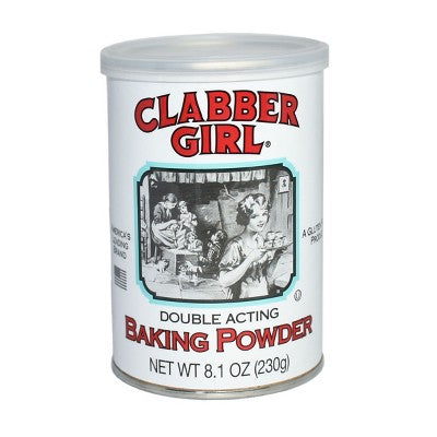 Clabber Girl Double Acting Baking Powder - 8.1oz