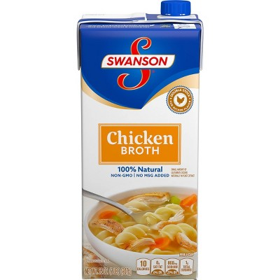 Swanson Chicken Broth 100% Natural 32oz