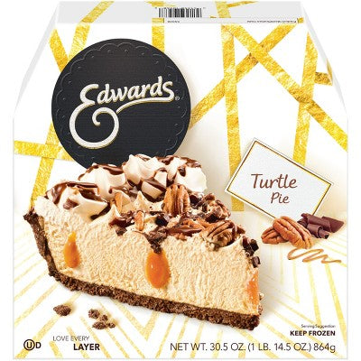 Edwards Frozen Turtle Pie - 30.5oz