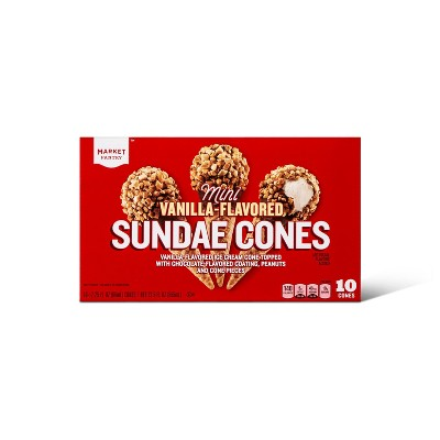 Mini Sundae Frozen Cone - 10ct/22.5oz - Market Pantry™