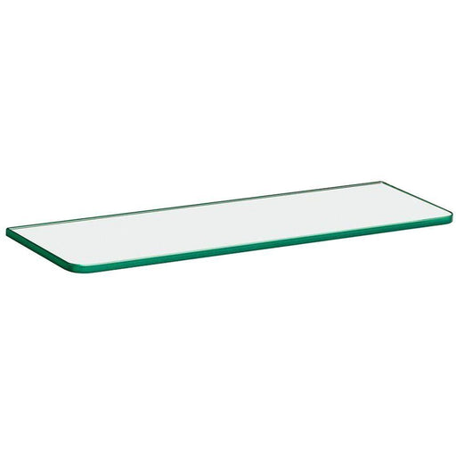 16 in. x 5/16 in. x 5 in. Standard Line Shelf in Clear Glass