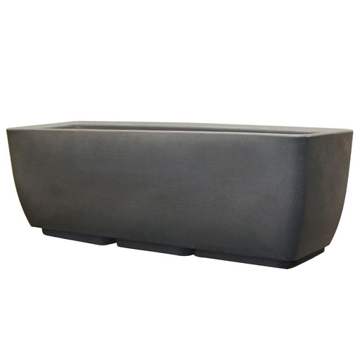 30 in. x 10 in. Graphite Planter