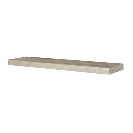 Chicago 10 in. W x 42 in. D Floating Grey Oak Decorative Ledge