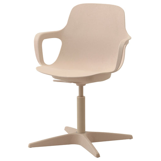 ODGER Swivel chair - white, beige
