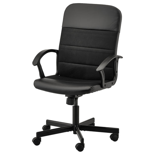 RENBERGET Swivel chair - Bomstad black