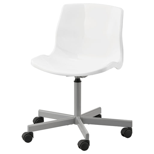 SNILLE Swivel chair - white