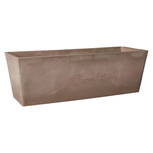 Simplicity 25-1/2 in. x 9 in. x 9 in. Taupe PSW Window Box