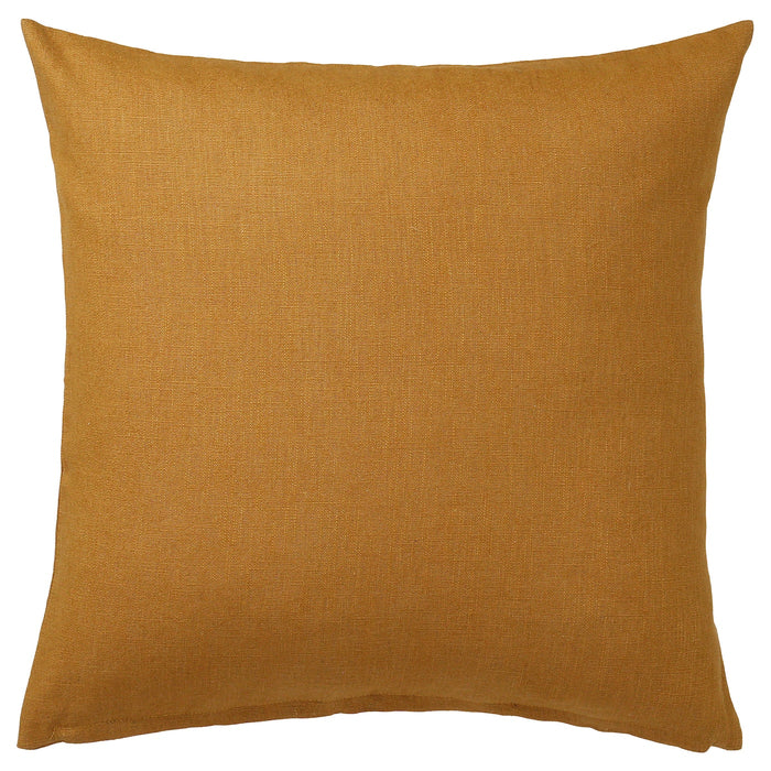 VIGDIS Cushion cover - dark golden brown 20x20 ""