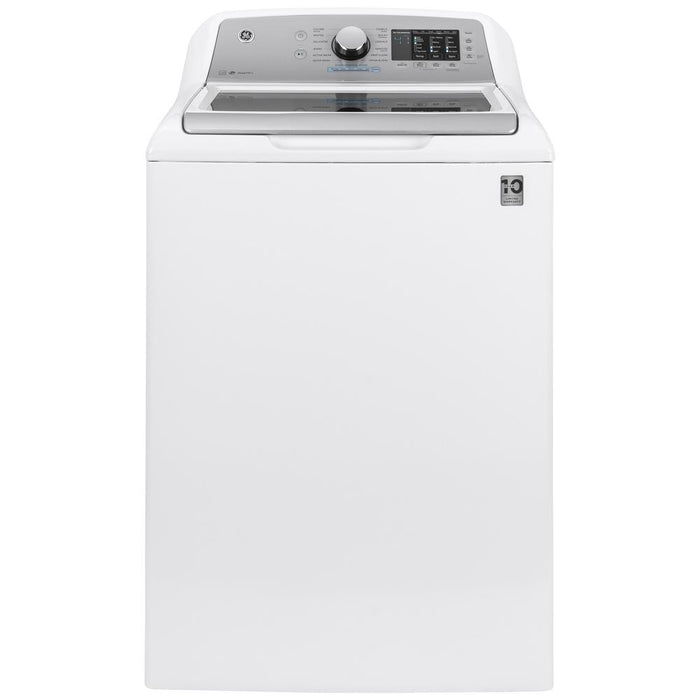 4.8 cu. ft. High-Efficiency White Top Load Washing Machine with FlexDispense and Sanitize with Oxi, ENERGY STAR