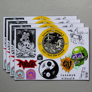Sticker Sheets / A4 / Free Postage