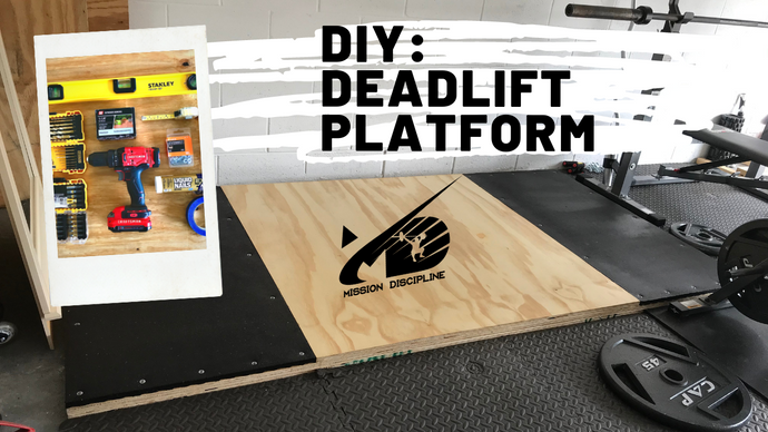 DIY: Deadlift Platform
