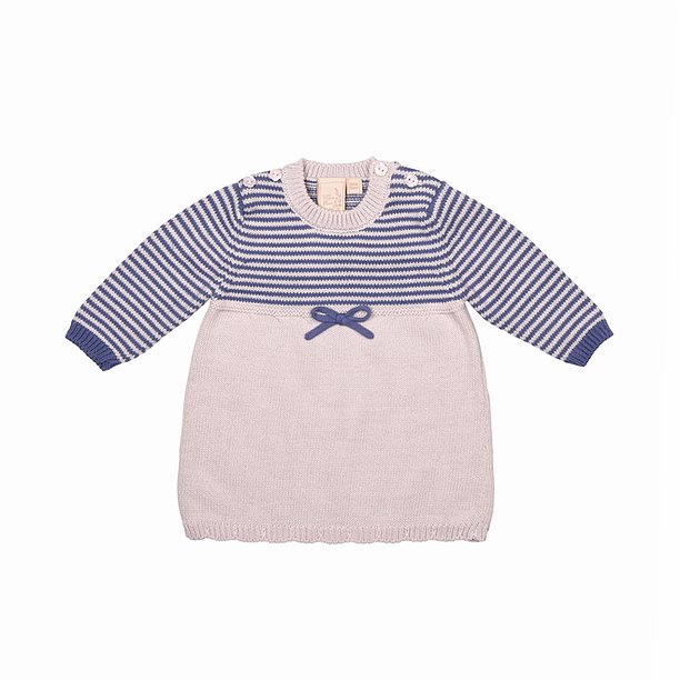 Sloeberry Knitted Baby Dress