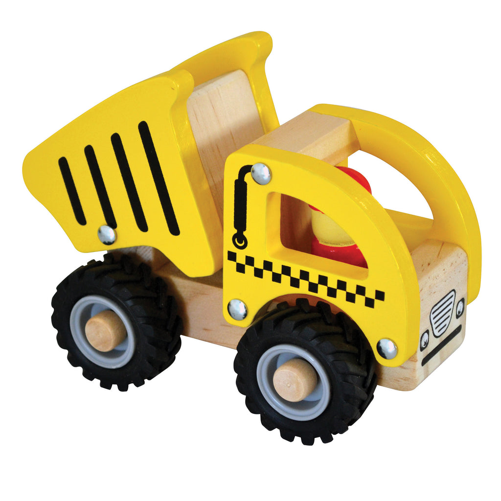 Wooden Brrm-Brrms – Construction Vehicles - Tipper Truck