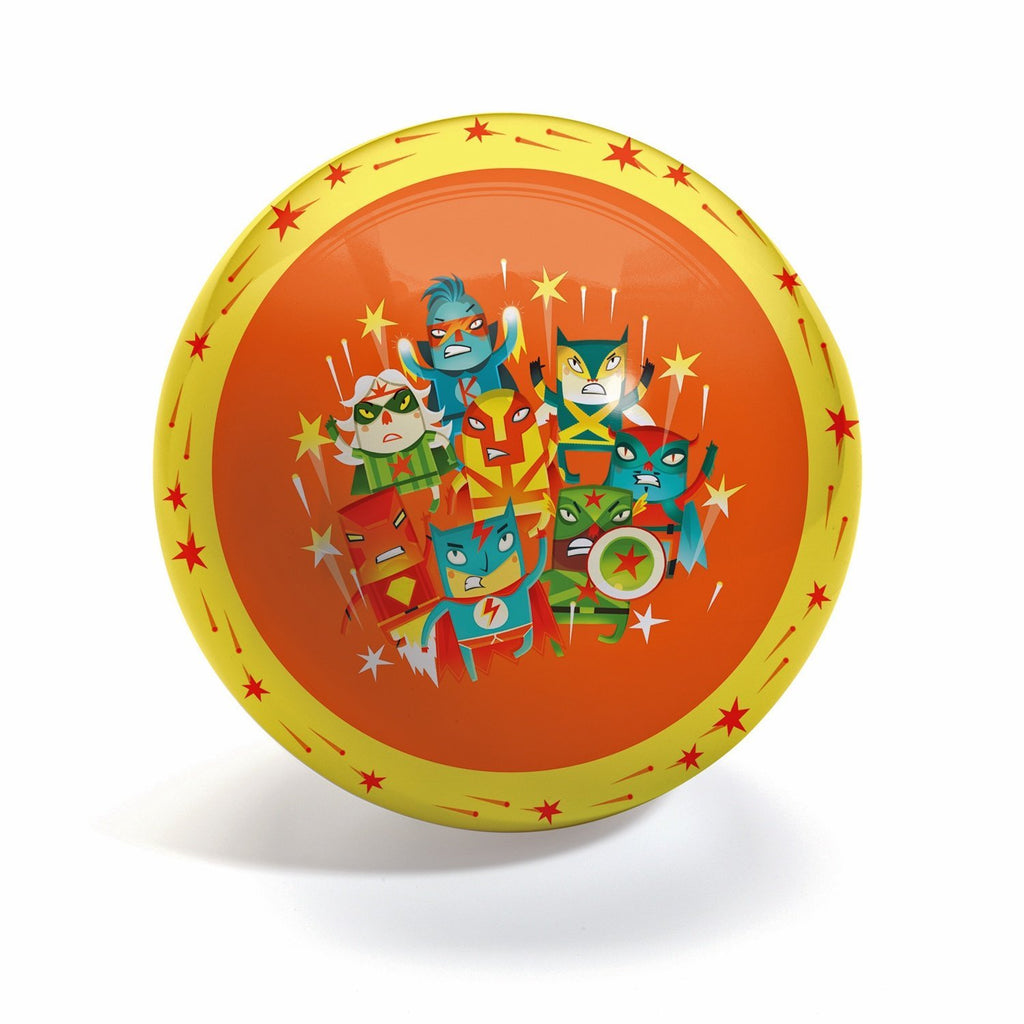 Djeco Ball – Super Heroes Large Ball 22cm