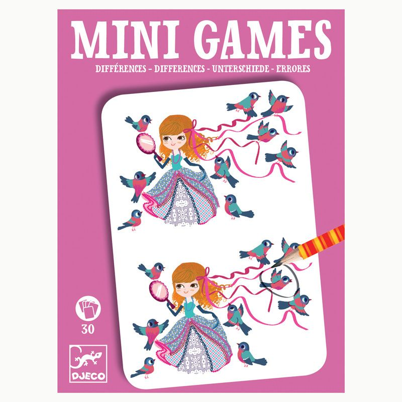 MINI GAMES - Differences