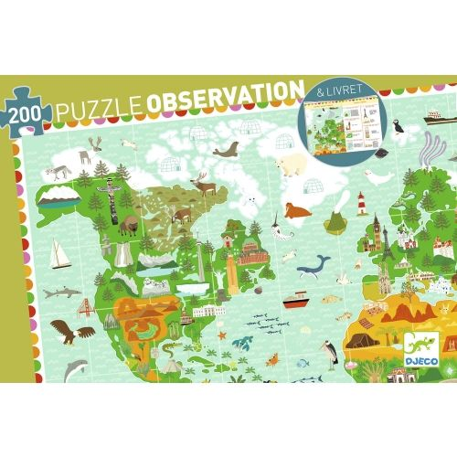 Djeco Around the World Observation Puzzle
