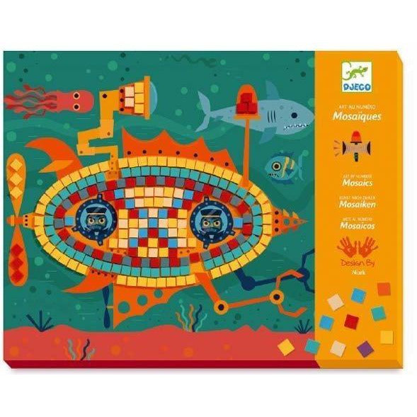 Ace At The Wheel Mosaic Kit by Djeco