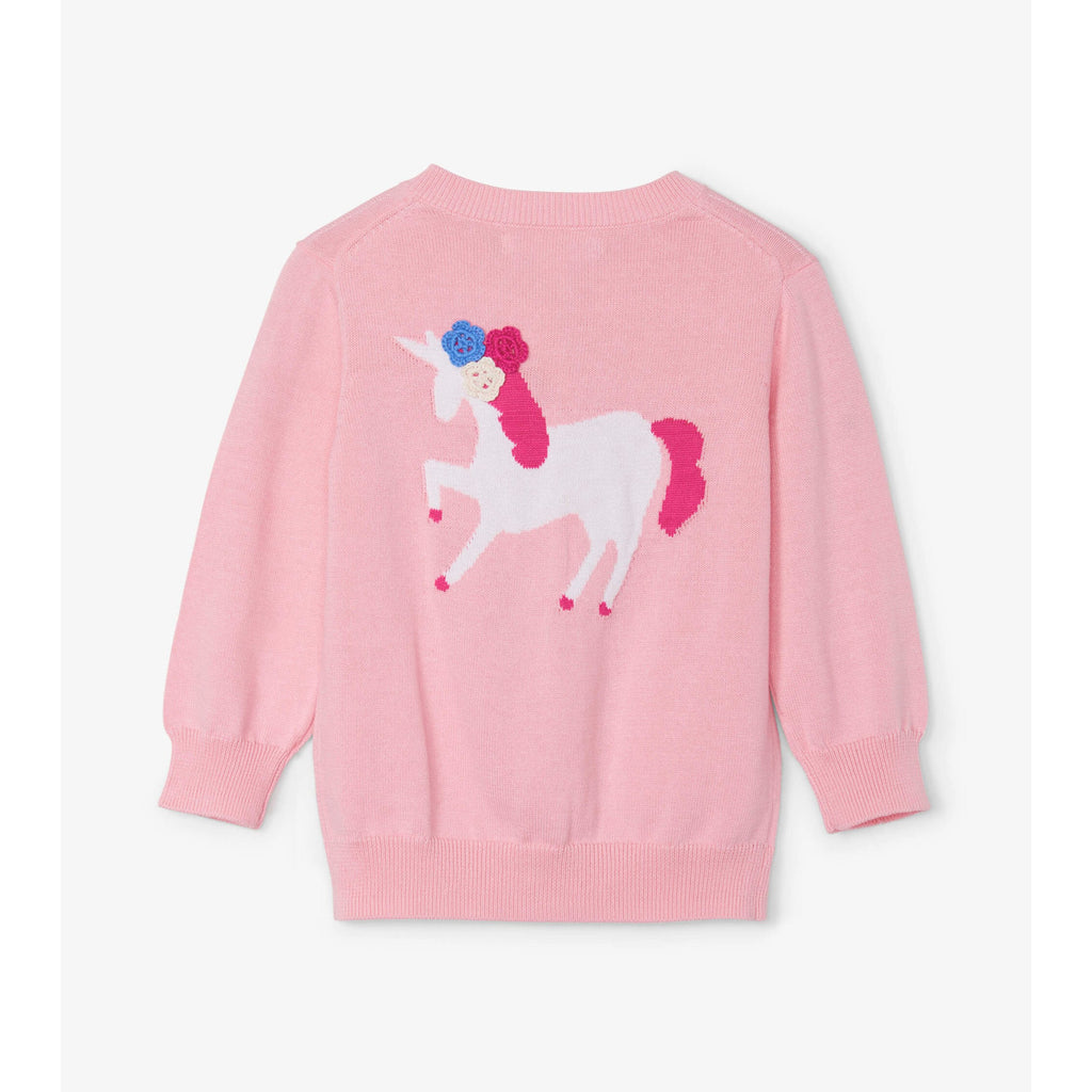 Mystical Unicorn Baby Cardigan