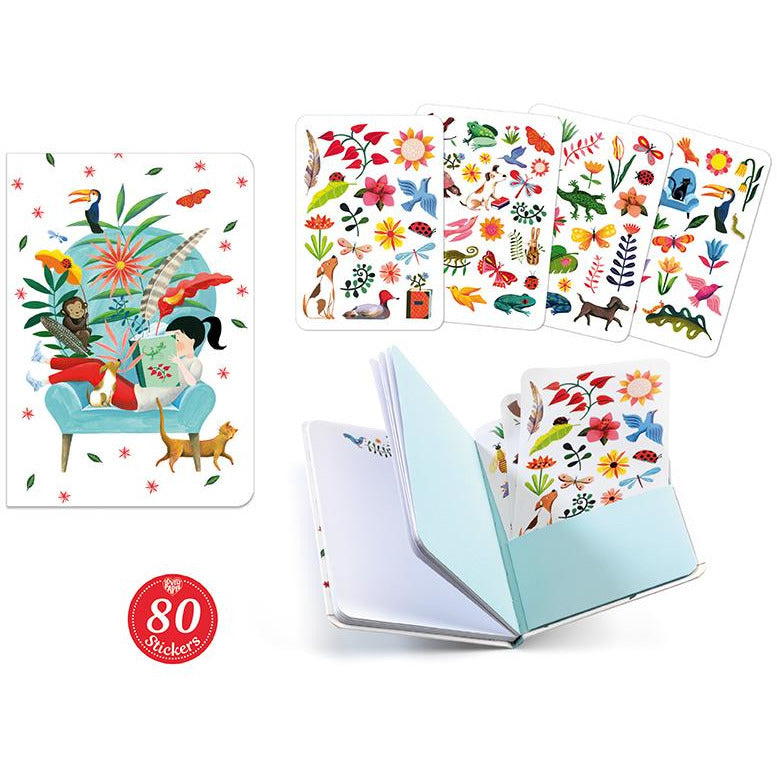 Sarah Notebook With Stickers