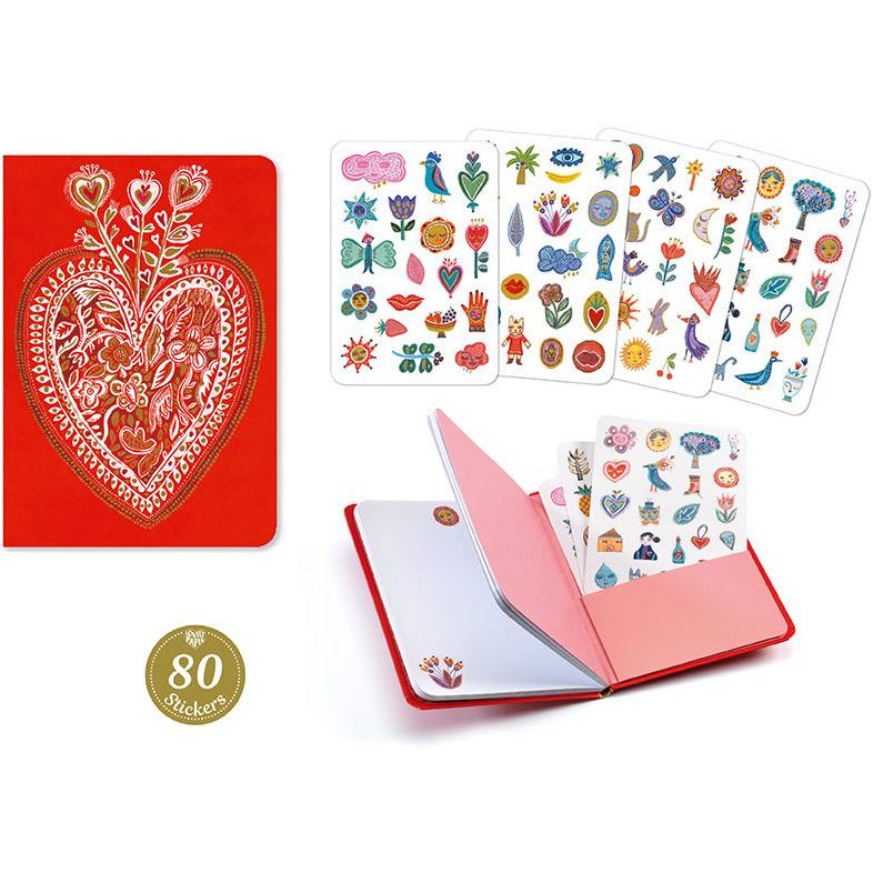 Aurelia Notebook With Stickers