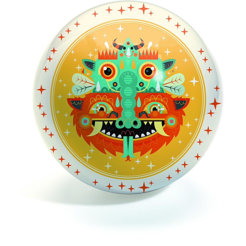 Djeco - 6 inch Medium Ball - Totem